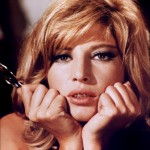 "Monica Vitti as ""Modesty Blaise"""