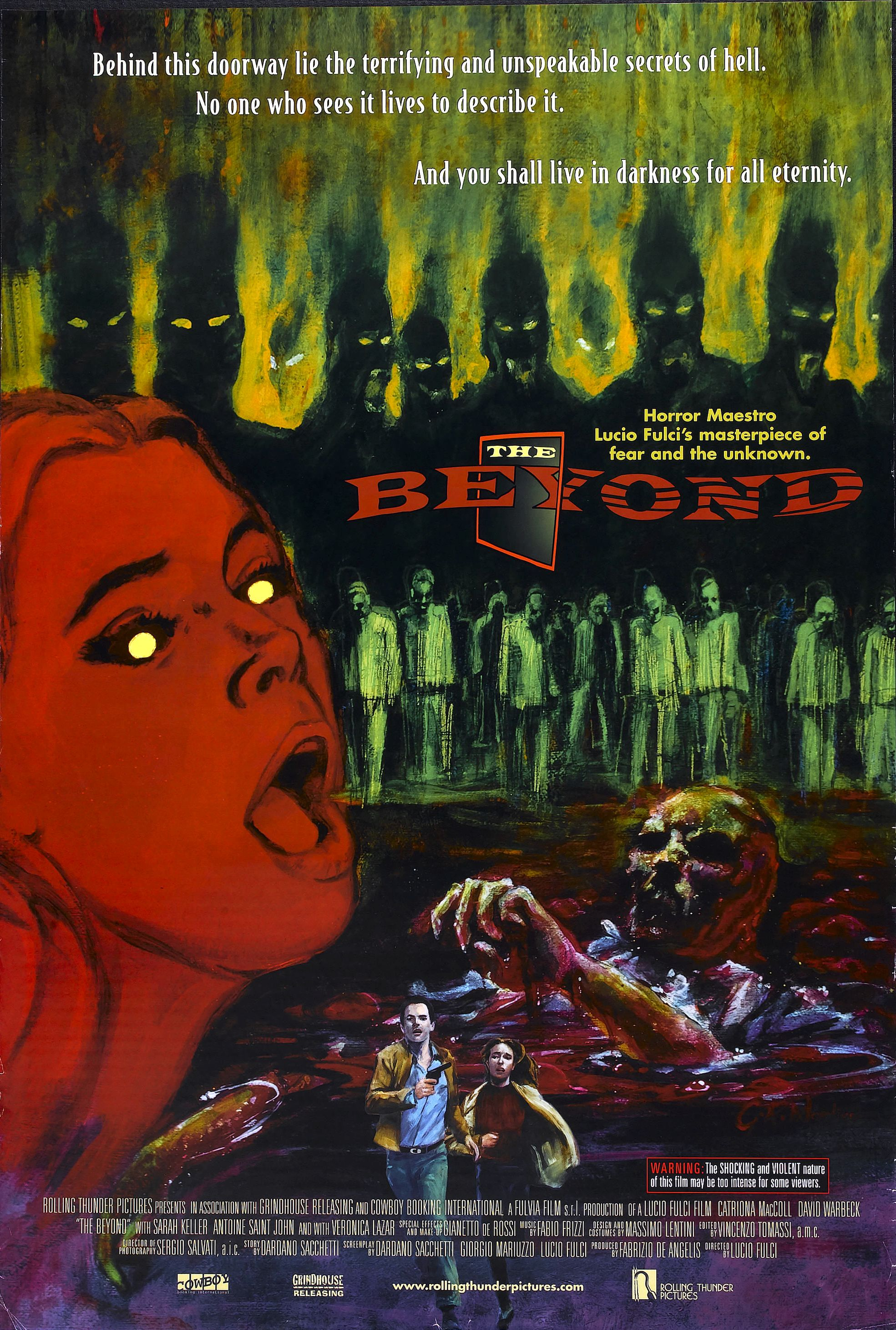 "Movie Poster for ""The Beyond"""