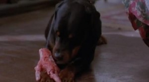 "Prince chows down in Wes Craven's ""The People Under the Stairs"" (1991)"
