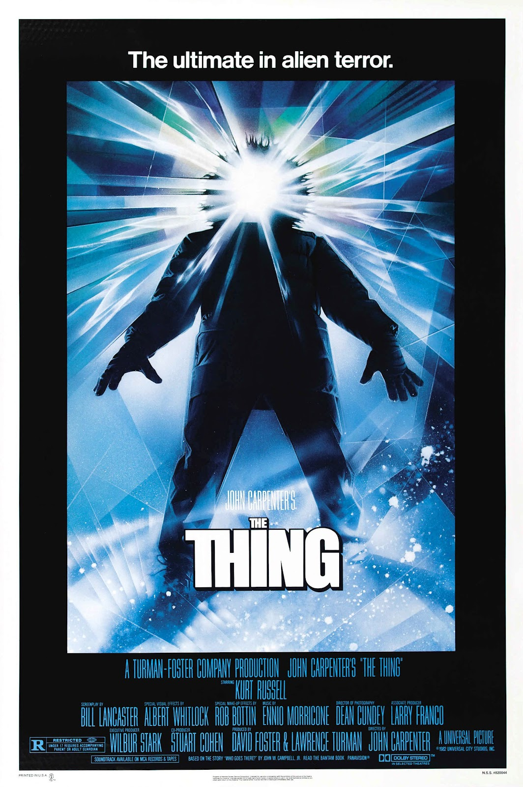 Movie Poster for &quotThe Thing&quot