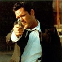 "Michael Madsen as Mister Blonde in ""Reservoir Dogs"" (1992)"