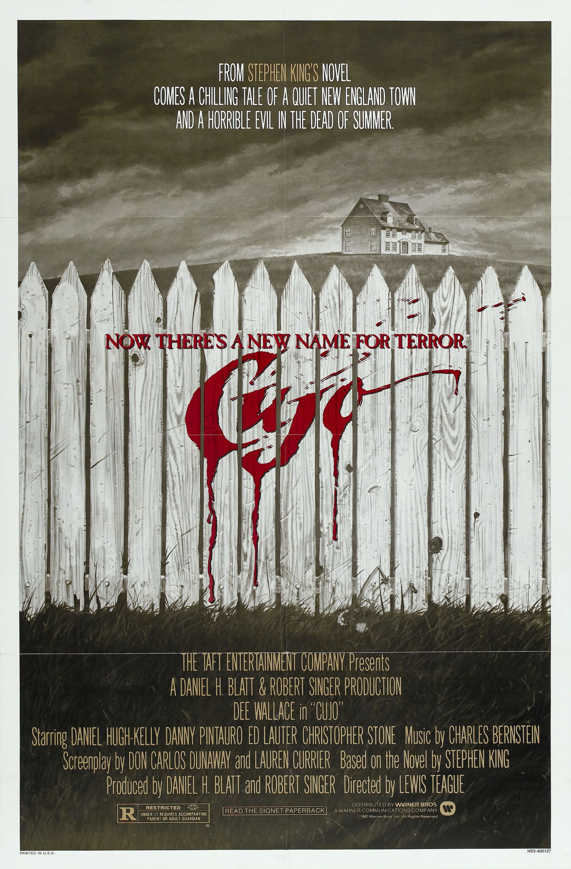 "Movie Poster for ""Cujo"""