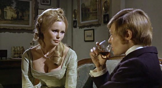 "Veronica Carlson and Simon Ward in ""Frankenstein Must Be Destroyed"" (1969)"
