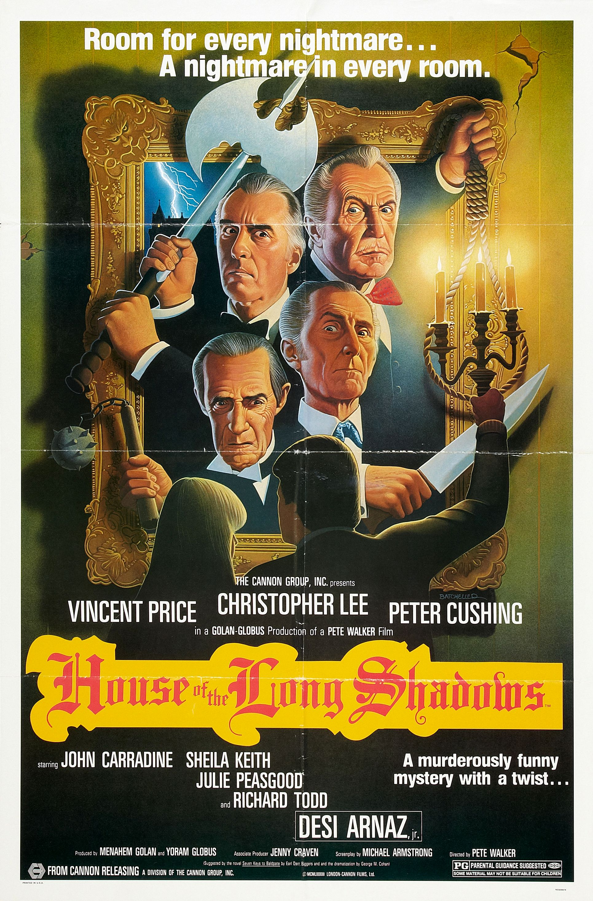 "Movie Poster for ""House of the Long Shadows"""