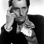 "Peter Cushing from ""The Revenge of Frankenstein"" (1958)"
