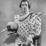 "Peter Cushing as Osric in ""Hamlet"" (1948)"