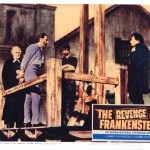 "Lobby Card for ""The Revenge of Frankenstein"" (1958)"