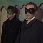 "Sandor Eles and Peter Cushing in ""The Evil of Frankenstein"" (1964)"