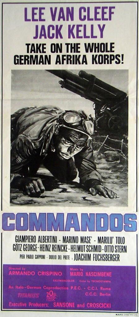 """Movie Poster for """"Commandos"""" (1968)"""