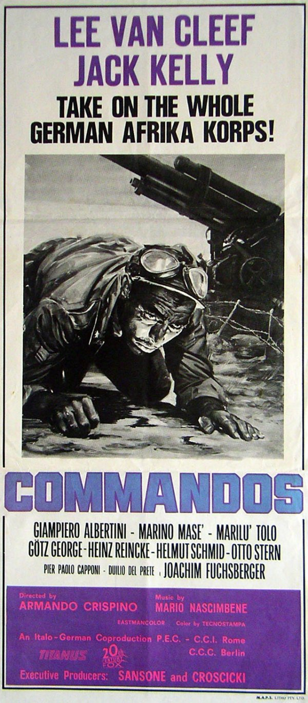 "Movie Poster for ""Commandos"""