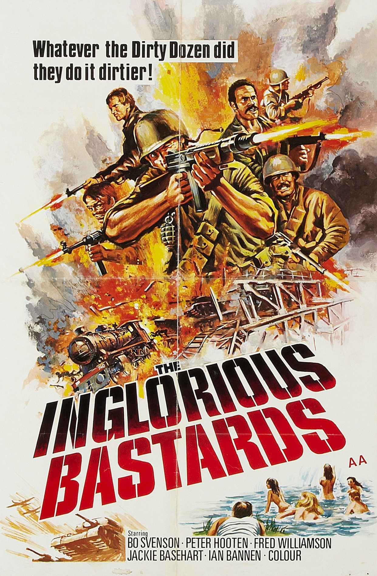 Movie Poster for &quotThe Inglorious Bastards""