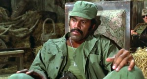 "Fred ""The Hammer"" Williamson in ""The Inglorious Bastards"" (1978)"