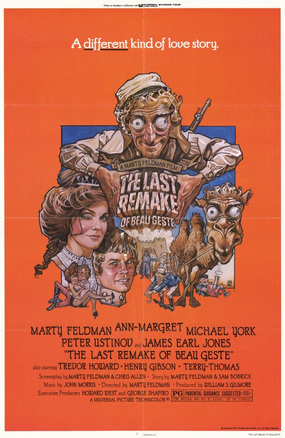 "Movie Poster for ""The Last Remake of Beau Geste"" (1977)"