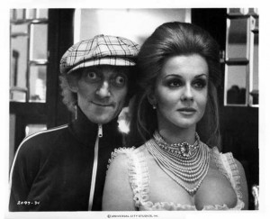 "Marty Feldman and Ann-Margret in a promotional photo for ""The Last Remake of Beau Geste"" (1977)"