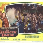 "Lobby Card for ""The Saracen Blade"" (1964)"