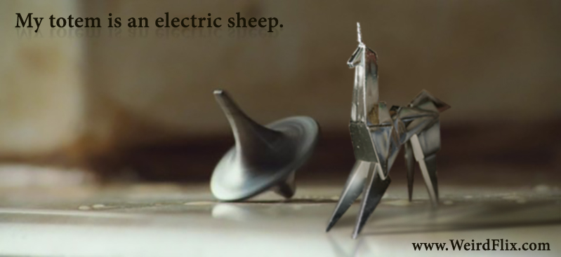 """My totem is an electric sheep."" - An image mash-up by RayRay & Brushmistress"