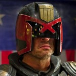 "Karl Urban as ""Dredd"" (2014)"