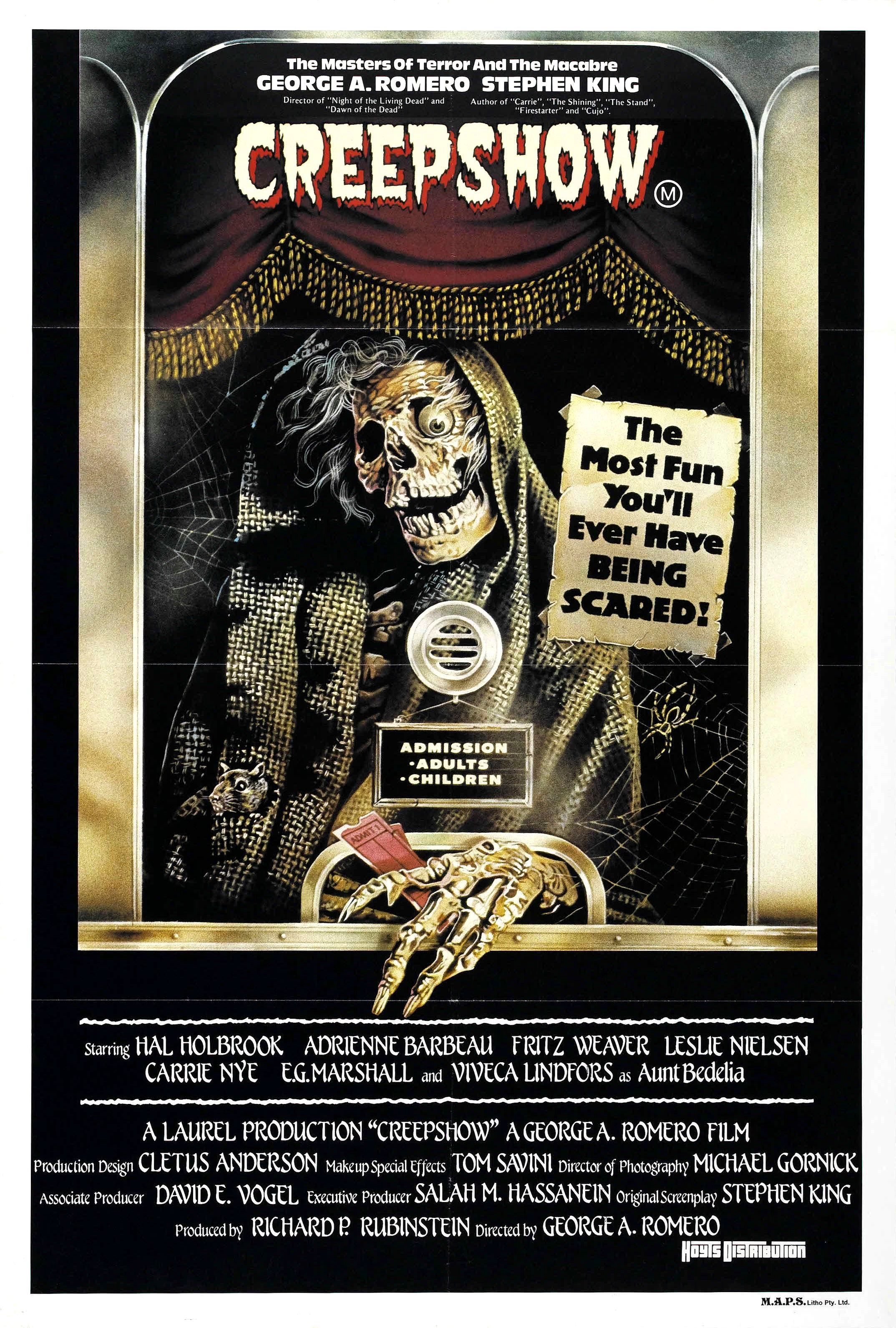 Movie Poster for &quotCreepshow&quot