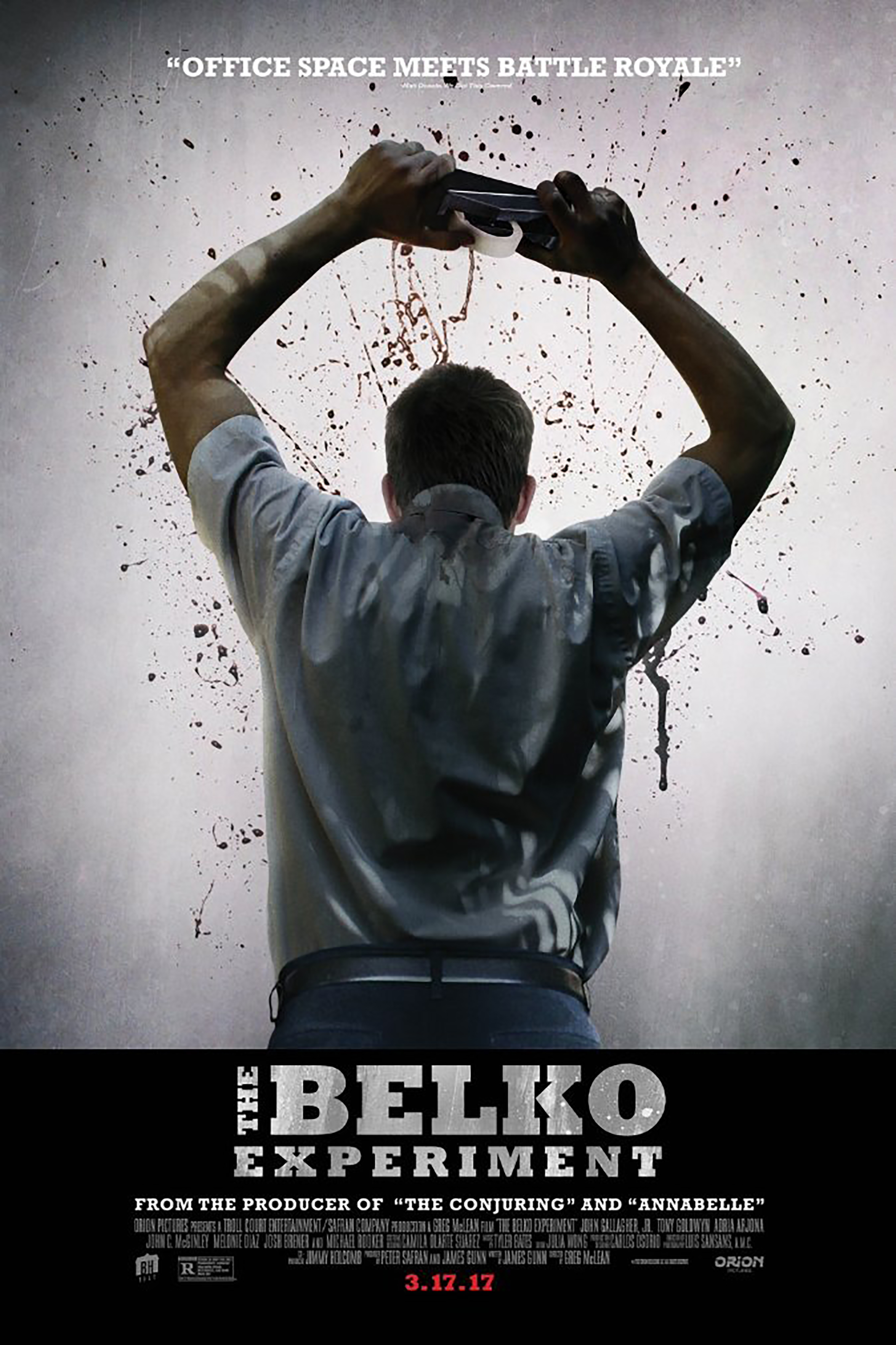 Movie Poster for &quotThe Belko Experiment&quot