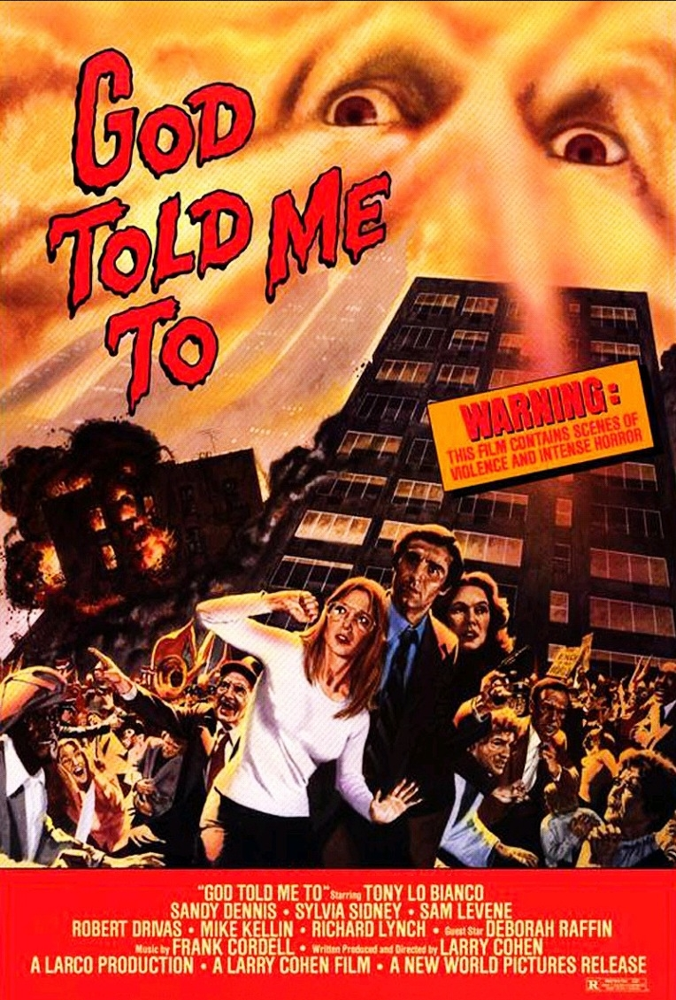 "Movie Poster for ""God Told Me To"""