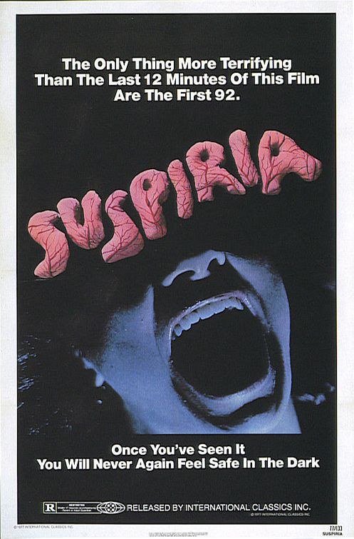 Movie Poster for &quotSuspiria""