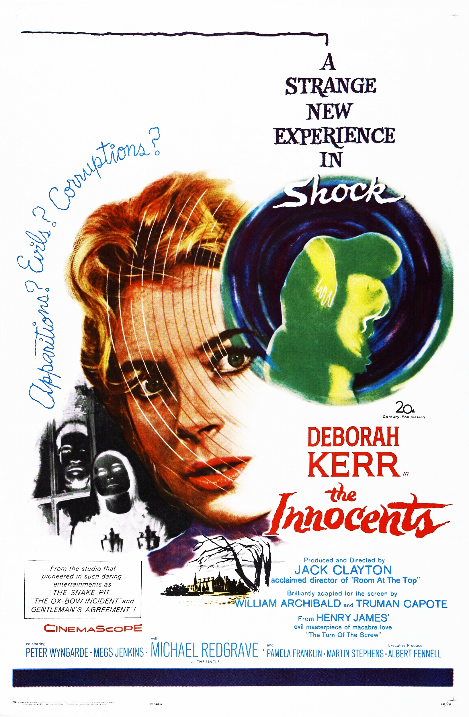 "Movie Poster for ""The Innocents"" (1961)"